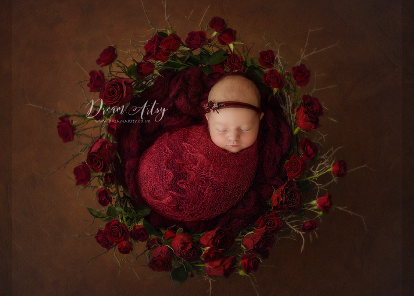 Lacey Wrap/Stuffer | Newborn Baby Posing Limited